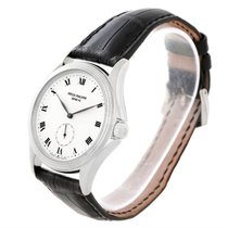 Patek Philippe Calatrava 18k White Gold Watch 5115 Papers