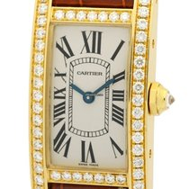 Cartier Tank Collection Tank Americaine 18k Yellow Gold...