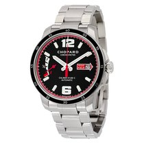 Chopard Millie Miglia GTS Automatic Black Dial Silver Stainles...