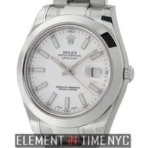 Rolex Datejust II Stainless Steel White Index Dial Ref. 116300