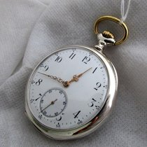 Zenith vintage silver serviced pocket watch