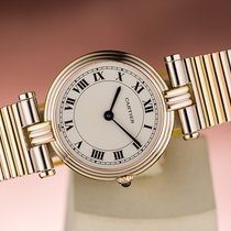 Cartier VENDOME TRINITY CLASSIC ROSE YELLOW WHITE GOLD LADIES