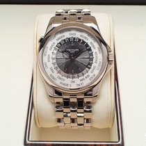 Patek Philippe Complications World Time White Gold Watch
