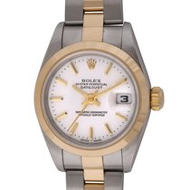Rolex - Ladies Datejust : 79163 white dial on Heavy Oyster...