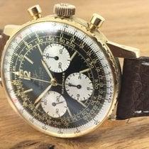 Breitling 18ct Gold Navitimer 806 Chronograph - Venus 178 Vintage
