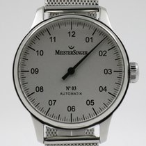 "Meistersinger ""Nr. 3 Automatic"" 38mm. steel case/Milan..."