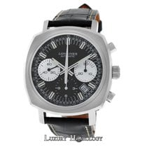 Longines New Men's  Heritage 1973 L27914520 Chrono Date...