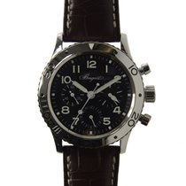 Breguet Type XXI Stainless Steel Black Automatic 3800ST/92/9W6