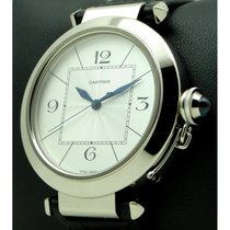 Cartier | Pasha Xl, 42mm 18 Kt White Gold, Full Set