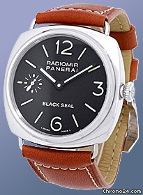 Panerai Limited Edition Gent&amp;#39;s Stainless Steel  Radiomir Black Seal Strapwatch [On Hold]