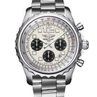 Breitling Chronospace Chronograph Silver Dial Automatic Watch