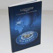 Longines Weltkundendienst Buch/Heft