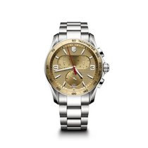 Victorinox Swiss Army Chrono Classic, champagne dial, steel,...