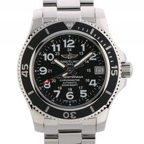 Breitling Superocean II Stahl Automatik Armband Stahl 36mm...