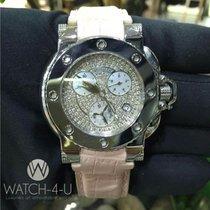 Aquanautic Bara Cuda Diamond Dial MOP Chronograph 39mm Pink