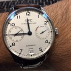 IWC 7 days power reserve Portuguese Automatic steel