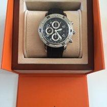 Hermès CP2 910 CLIPPER CHRONO PLONGEE Bracelet acier et...