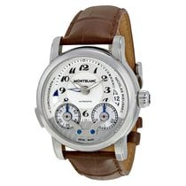 Montblanc Nicolas Rieussec Chronograph Silver Dial Brown...