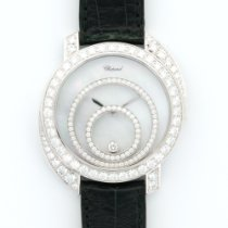 Chopard White Gold Happy Spirit Diamond Watch Ref. 20/7154-20