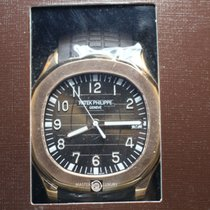 Patek Philippe 5167R-001 Aquanaut Jumbo Brown Dial Rose Gold