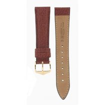 Hirsch Wild Boar Brown Leather 20mm