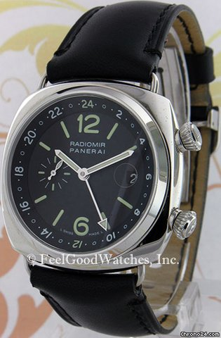 Panerai PAM00184 Radiomir GMT, Steel, G Series [On Hold]