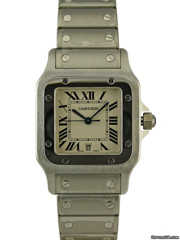 Cartier Santos de Cartier galbe