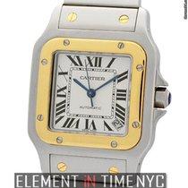 Cartier Santos Collection Santos Galbee Steel & Gold Large...