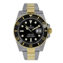 Rolex SUBMARINER Steel & 18K Yellow Gold Black Ceramic