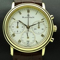 Blancpain Villeret Chronograph 18 kt yellow gold, full set