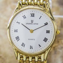 Universal Genève Quartz Original Swiss Mens Dress Luxury Watch...