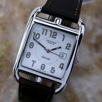 Hermès Paris Cc1. 710 Automatic Stainless Steel Swiss Made...