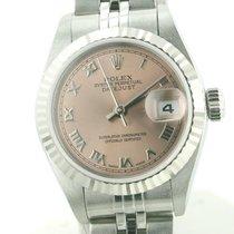 Rolex Ladies Datejust Stainless Steel Pink 79174 Beautiful...