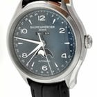 Baume & Mercier Mens  Clifton 10057 Blue Dial Watch