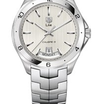 TAG Heuer D-LINK AUTOMATIC DAY DATE  - SILVER DIAL
