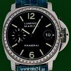 Panerai Luminor Marina Automatic PAM71 Original Diamonds...