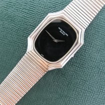 Patek Philippe White Gold Onyx Unusual Bracelet Watch Ref. 3729