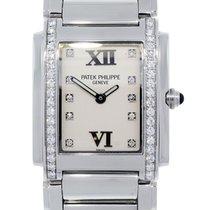 Patek Philippe Twenty-4 Diamond Dial and Diamond Bezel Watch