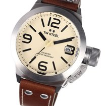 TW Steel CS11 Canteen Leather 45mm 10ATM