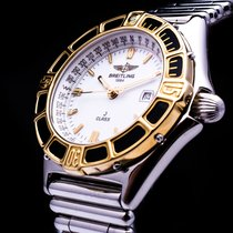 Breitling J Class Lady Stahl/Gold  Date Rouleauxband