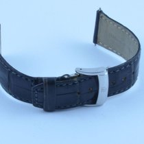 名士 (Baume & Mercier) Leder Armband Leather Bracelet 22mm...