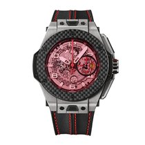 Hublot Big Bang Unico Ferrari 45mm Skeleton Mens Watch Ref...