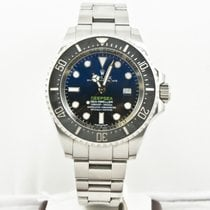 Rolex  44mm Deepsea Dweller 116660 Black & Blue Dial