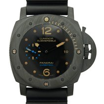 Panerai New  Luminor Carbon Fiber Black Automatic PAM00616
