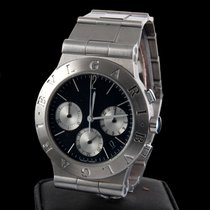 Bulgari sport chronograph steel