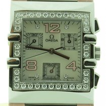 Omega Constellation Quadra 1847.70.34 Lady Quartz Pink...