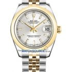 Rolex olex Watches: 178243 Datejust 31mm - Steel and Gold Yel