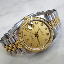 Rolex Ladies Datejust Diamond Markers Blue Dial