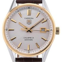 TAG Heuer Carrera 39 Date Yellow Gold Calibre 5