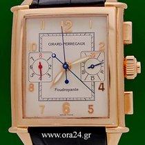 Girard Perregaux Vintage 1945 Automatic Chrono 18k Rose Gold...